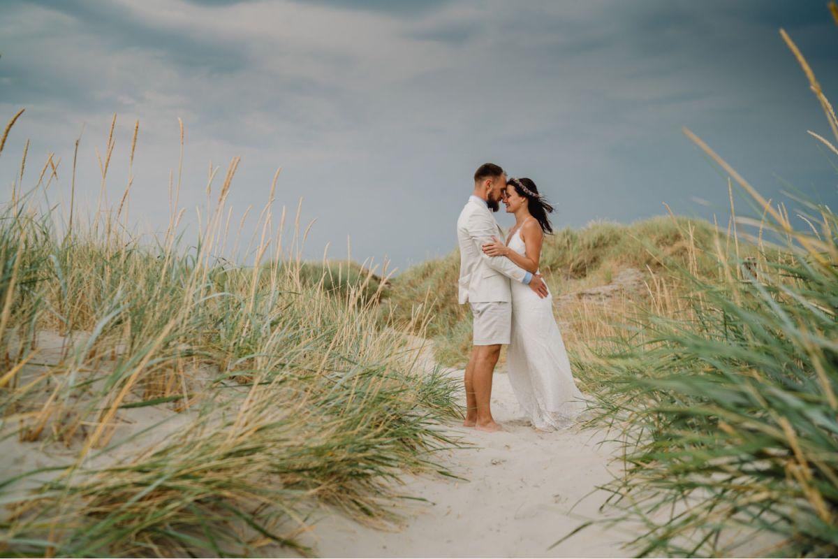 Hochzeitsfotograf Nordsee Dünen